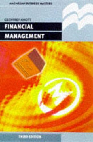 9780333728222: Financial Management (Business Masters)