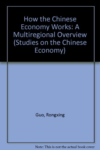 9780333729939: How the Chinese Economy Works: A Multiregional Overview