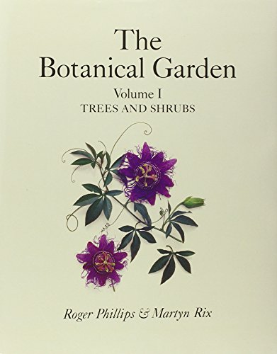 9780333730034: Botanical Garden Volume I: Trees and Shrubs