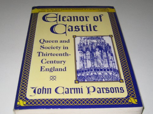 9780333731246: Eleanor of Castile: Queen and Society in Thirteenth-Century England