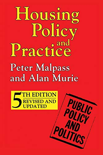 9780333731895: Housing Policy and Practice (Public Policy and Politics)