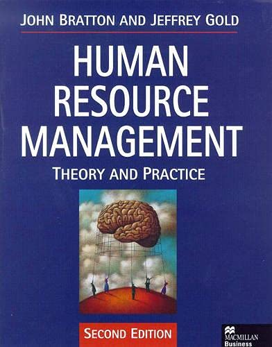 9780333732076: Human Resource Management: Theory and Practice