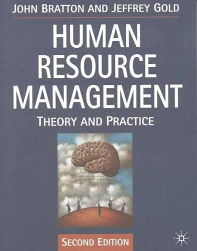9780333732083: Human Resource Management: Theory and Practice