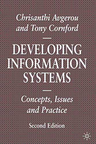 9780333732311: Developing Information Systems: Concepts, Issues and Practice (Information Systems Series)