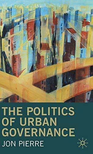 9780333732670: The Politics of Urban Governance