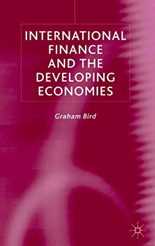 9780333733974: International Finance and the Developing Economies