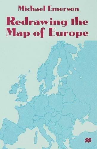 9780333734469: Redrawing the Map of Europe