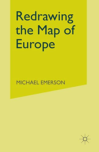 9780333734476: Redrawing the Map of Europe