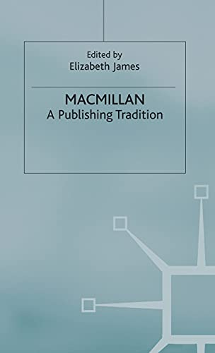 9780333735176: Macmillan: A Publishing Tradition from 1843