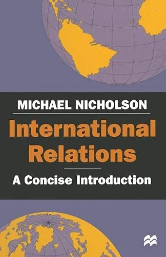 9780333736227: International Relations: A Concise Introduction