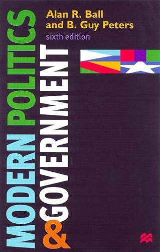 9780333737460: Modern Politics and Government
