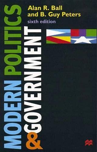 9780333737477: Modern Politics and Government