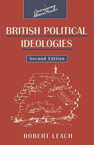 9780333739174: British Political Ideologies (Contemporary Political Studies)