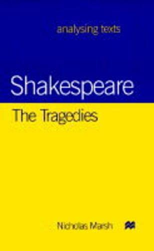 9780333739303: Shakespeare: The Tragedies (Analysing Texts)