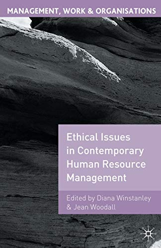 9780333739662: Ethical Issues in Contemporary Human Resource Management (Management, Work and Organisations)