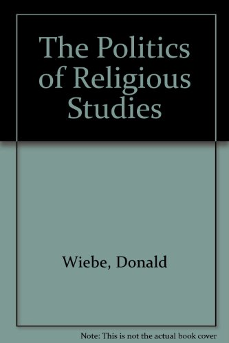 9780333741542: The Politics of Religious Studies