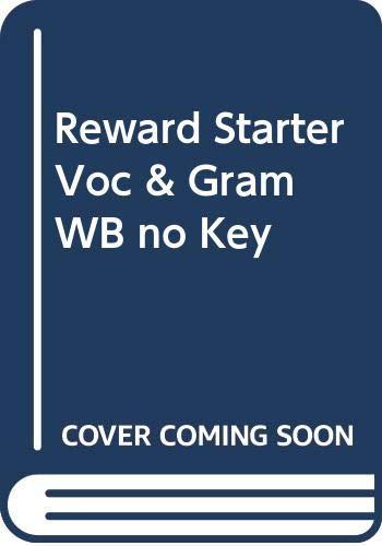 9780333742549: Reward Starter: Grammar and Vocabulary Workbook without Key