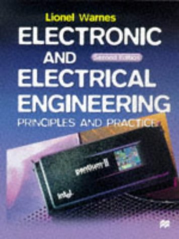 9780333743119: Electronic and Electrical Engineering: Principles and Practice