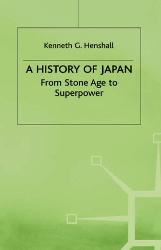 9780333744796: A History of Japan: From Stone Age to Superpower