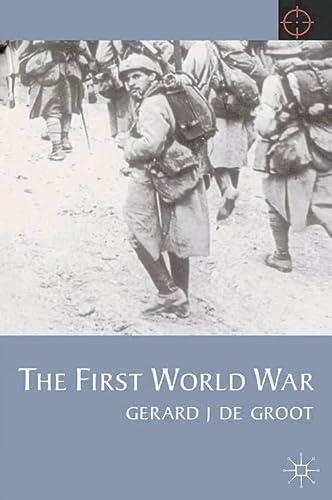 9780333745359: The First World War (Twentieth Century Wars)