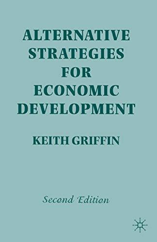 9780333746547: Alternative Strategies for Economic Development