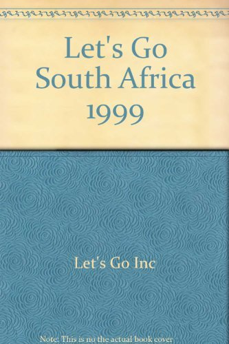 9780333747520: Let's Go South Africa 1999