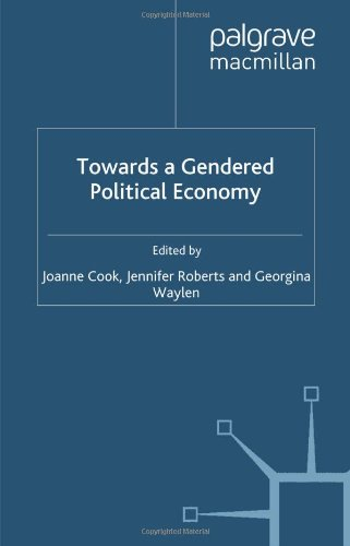 9780333748718: Towards a Gendered Political Economy
