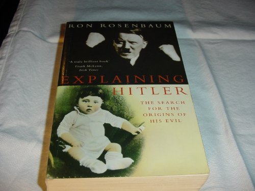 9780333750780: Explaining Hitler
