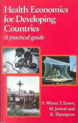 9780333752050: Health Economics for Developing Countries: A Practical Guide