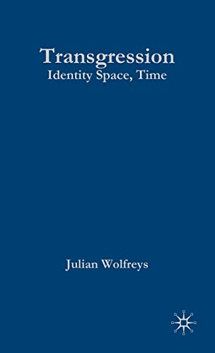9780333752753: Transgression: Identity, Space, Time (Transitions)
