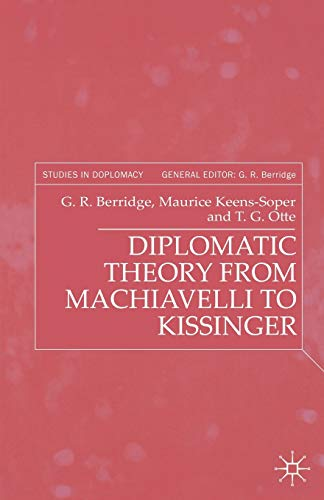 9780333753668: Diplomatic Theory from Machiavelli to Kissinger (Studies in Diplomacy)
