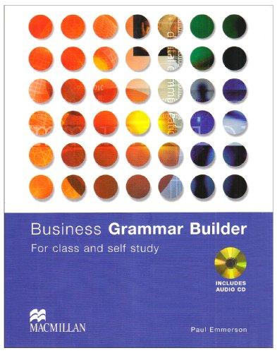 9780333754924: Business Grammar Builder