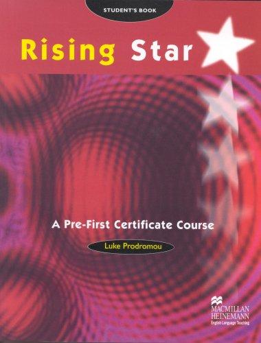9780333758069: Rising star. Pre Fce. Student's book. Per le Scuole superiori