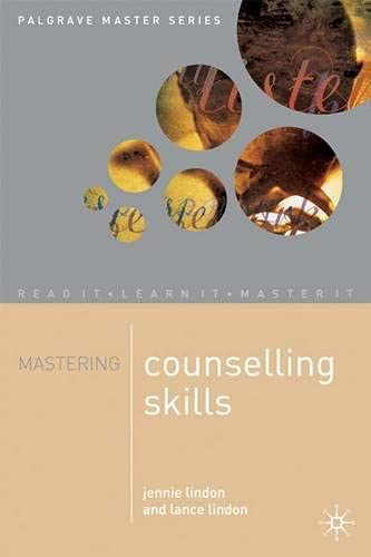 9780333760055: Mastering Counselling Skills (Palgrave Master Series)