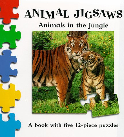9780333762653: Wild Animals in the Jungle (Animal Jigsaw)