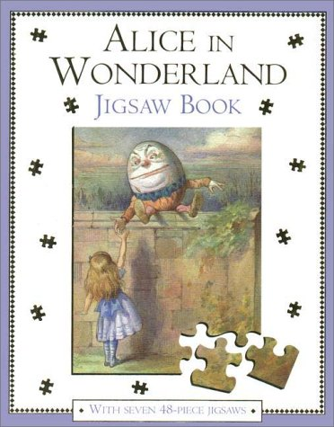9780333762912: Alice in Wonderland Jigsaw Book: With Seven 48-Piece Puzzles