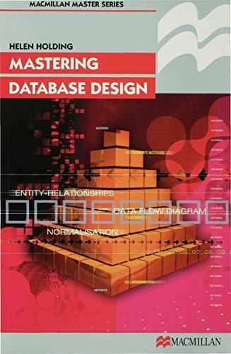 9780333763179: Mastering Database Design (Palgrave Master Series (Computing))
