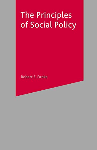 9780333763377: The Principles of Social Policy
