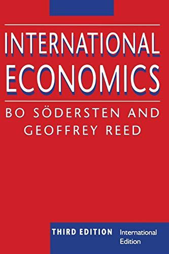 9780333763650: International Economics