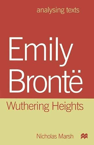 """9780333763940: Emily Bronte: """"Wuthering Heights"""" (Analysing Texts)"""