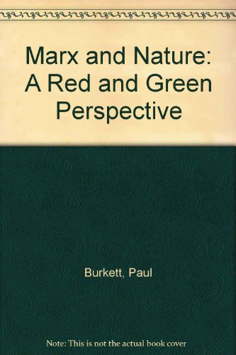 9780333765074: Marx and Nature: A Red and Green Perspective