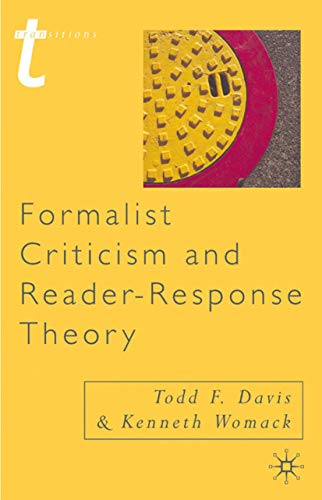 9780333765319: Formalist Criticism and Reader-Response Theory