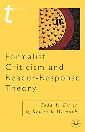 9780333765326: Formalist Criticism and Reader-Response Theory