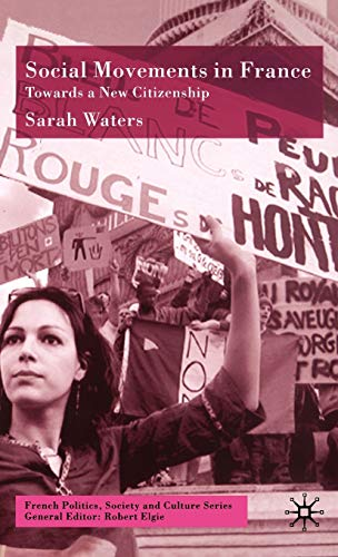 9780333770436: Social Movements in France: Towards A New Citizenship