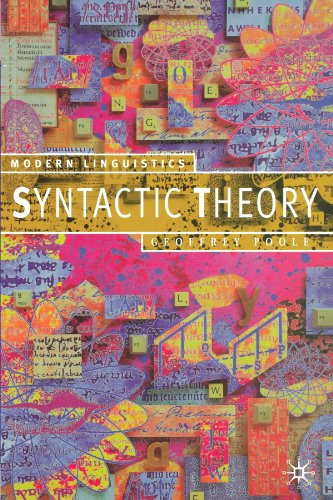 9780333770979: Syntactic Theory (Modern Linguistics Series)
