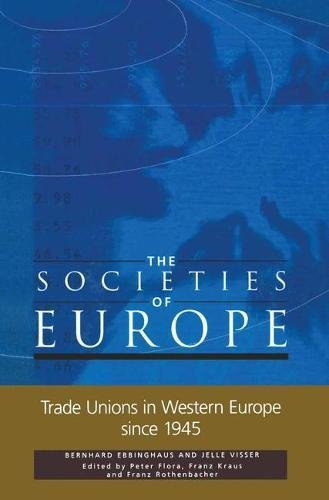9780333771129: Trade Unions in Western Europe Since 1945 (Societies of Euroe)