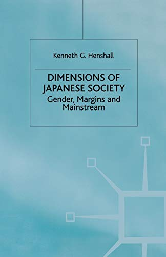 9780333772393: Dimensions of Japanese Society: Gender, Margins and Mainstream