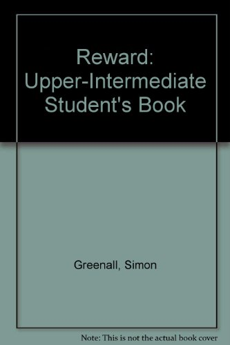9780333774304: Reward: Upper-Intermediate Student's Book
