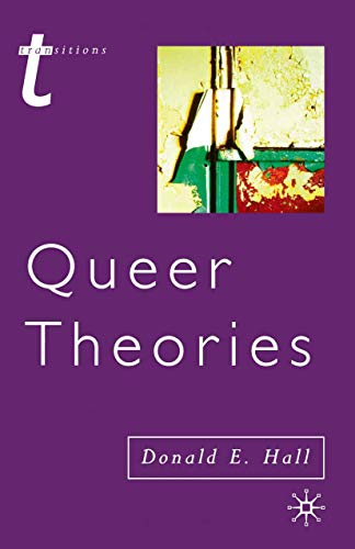 9780333775394: Queer Theories (Transitions)