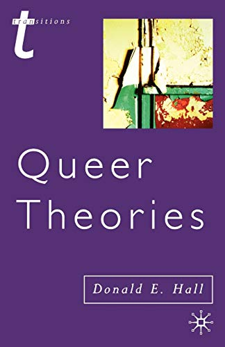 9780333775400: Queer Theories (Transitions)